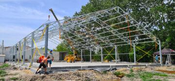 barracon csarnoképítés raktárcsarnok