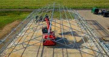 könnyűszerkezetes csarnok építés sátorcsarnok barracon